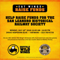 Eat Wings. Raise Funds for the SLHRS July 18th