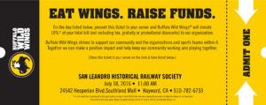 Eat Wings. Raise Funds SLHRS