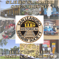 Summer Open House & Train Show July 16-17th!