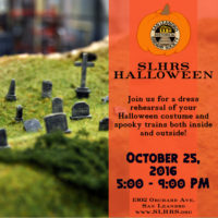 Halloween Model Train Show & Open House