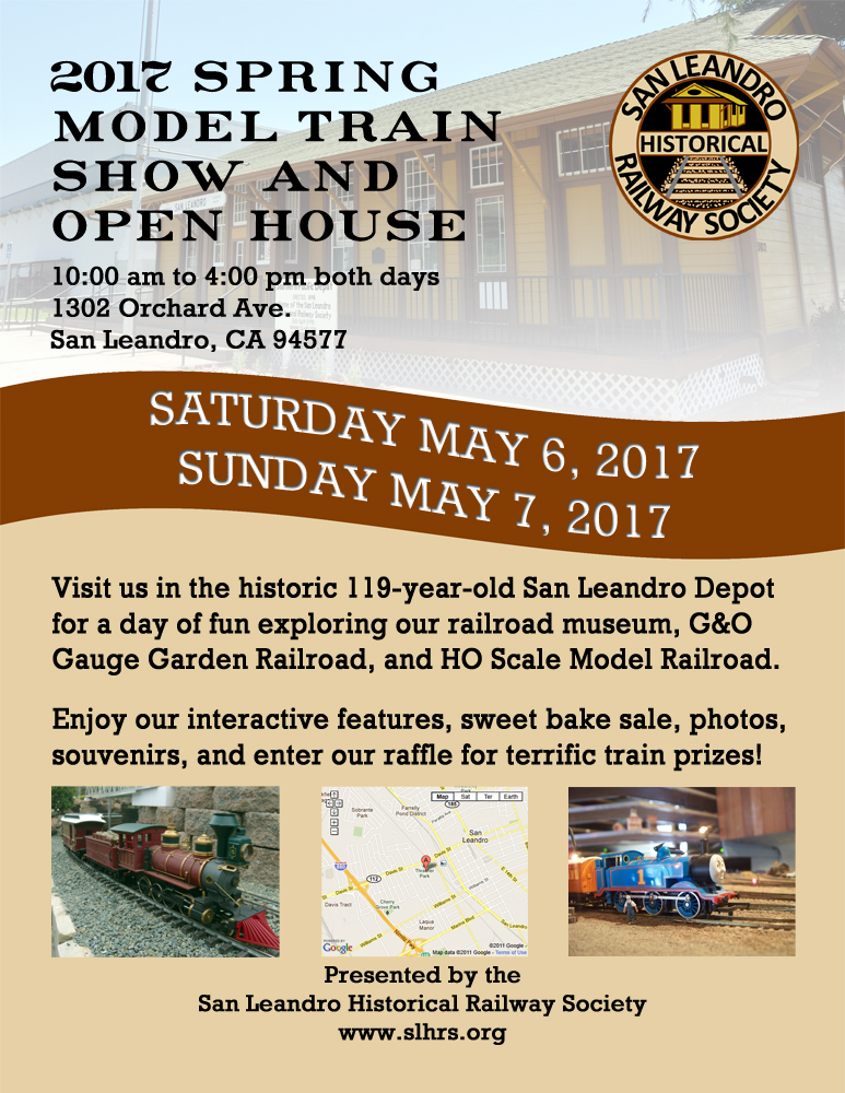 Spring 2017 Model Train Show & Open House